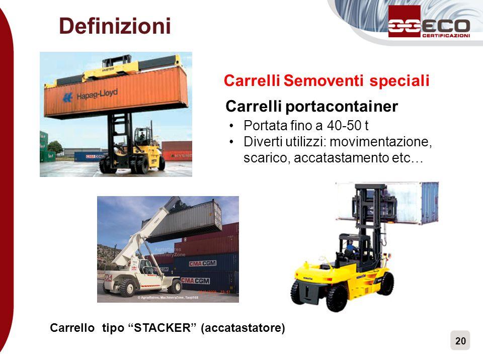 Carrelli Semoventi speciali