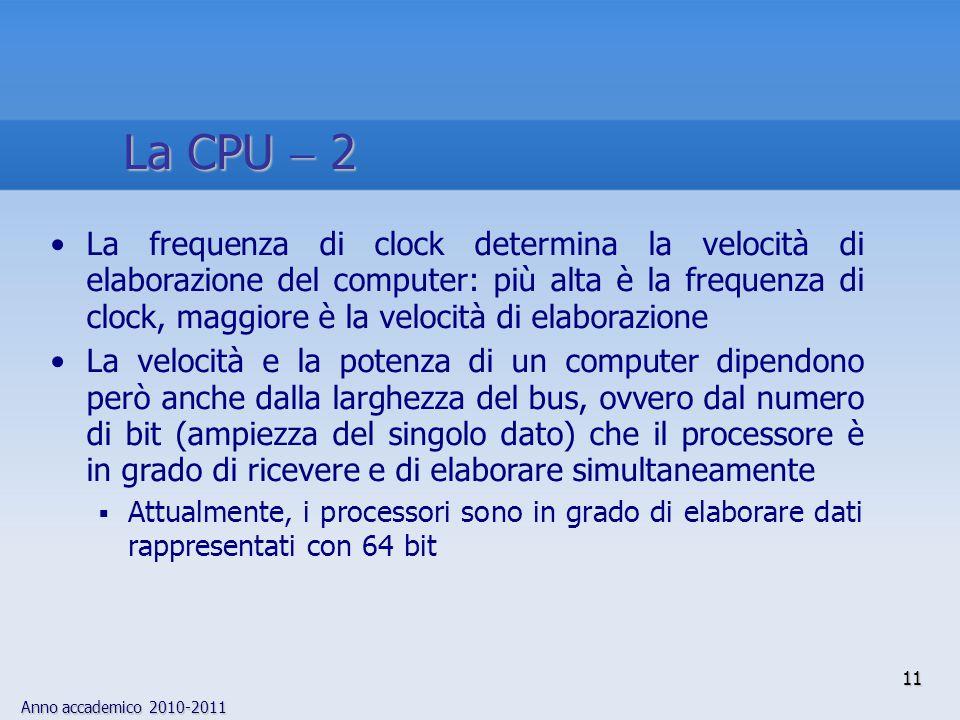 La CPU  2