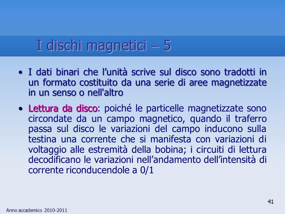 I dischi magnetici  5