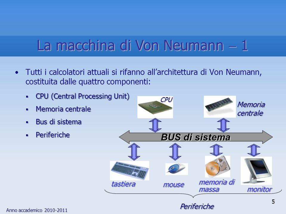 La macchina di Von Neumann  1