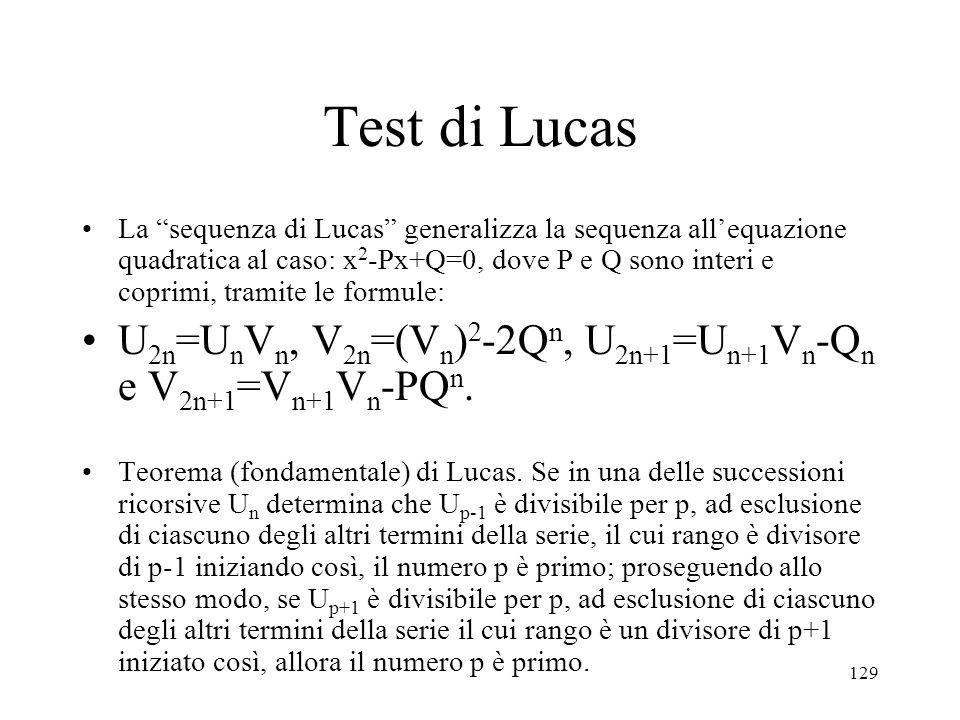 Test di Lucas