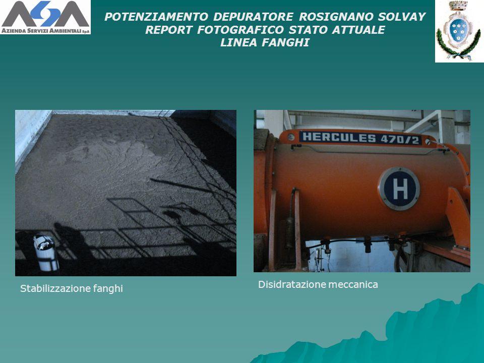 POTENZIAMENTO DEPURATORE ROSIGNANO SOLVAY
