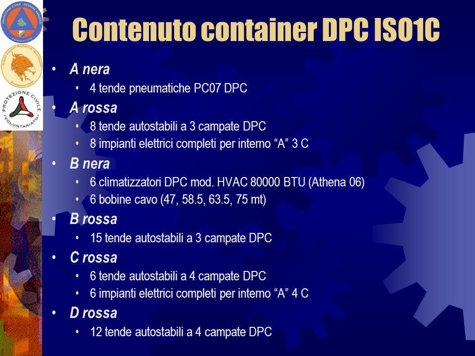 Contenuto container DPC ISO1C