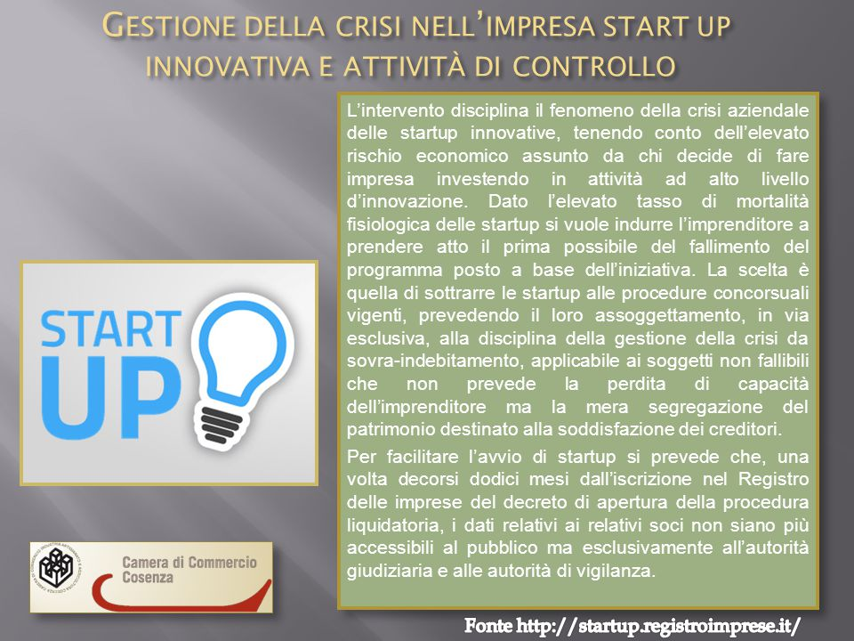 Fonte http://startup.registroimprese.it/