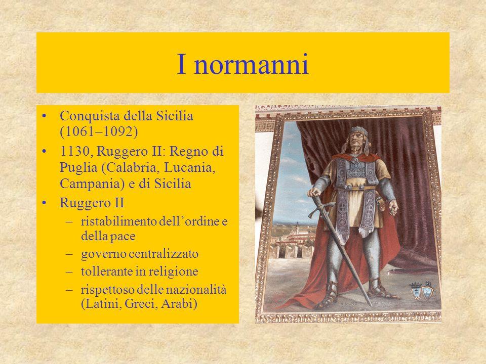 I normanni Conquista della Sicilia (1061–1092)