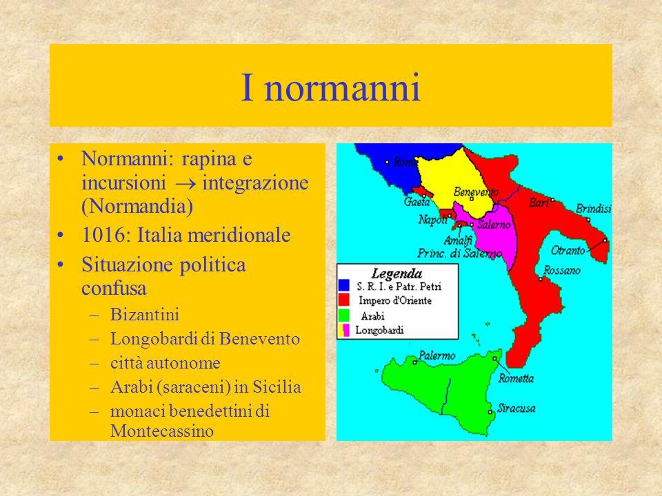 I normanni Normanni: rapina e incursioni  integrazione (Normandia)