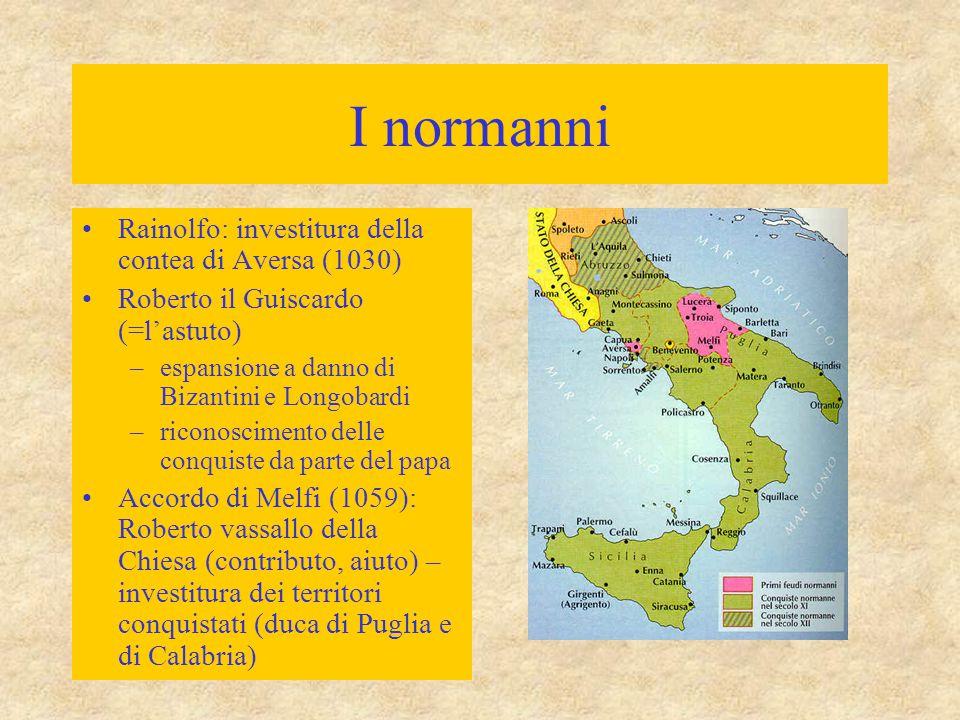 I normanni Rainolfo: investitura della contea di Aversa (1030)