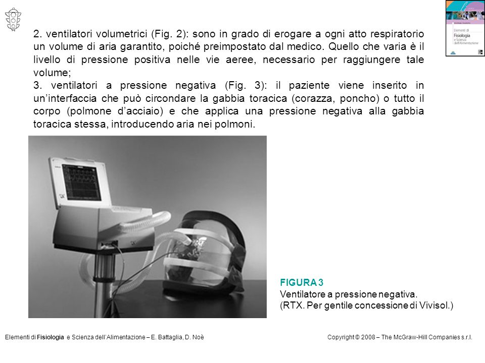 2. ventilatori volumetrici (Fig