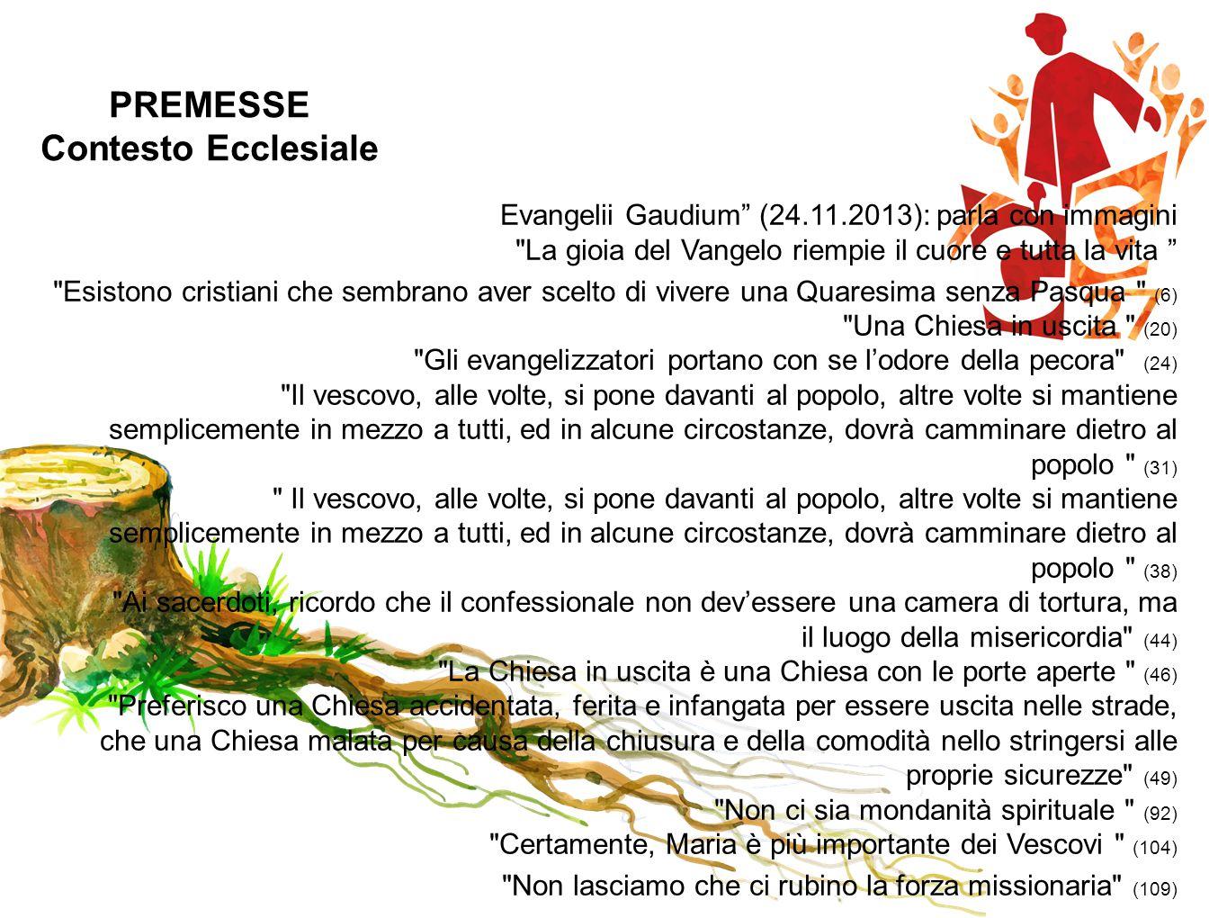 PREMESSE Contesto Ecclesiale