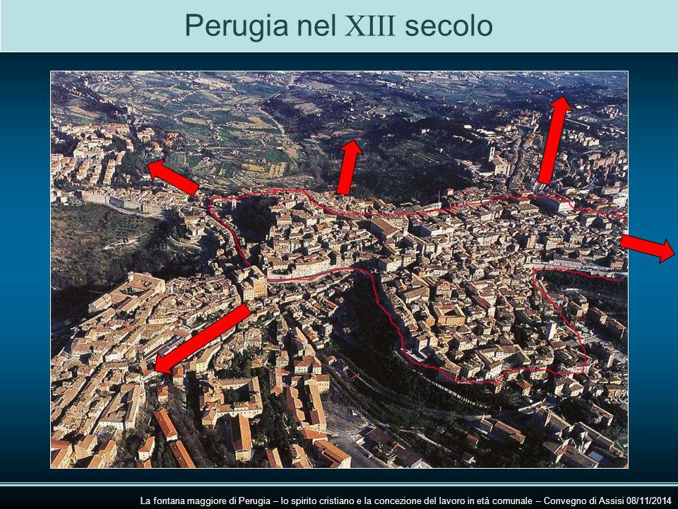 Perugia nel XIII secolo