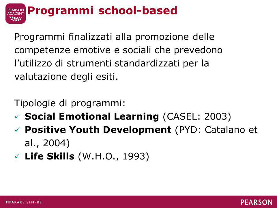 Programmi school-based