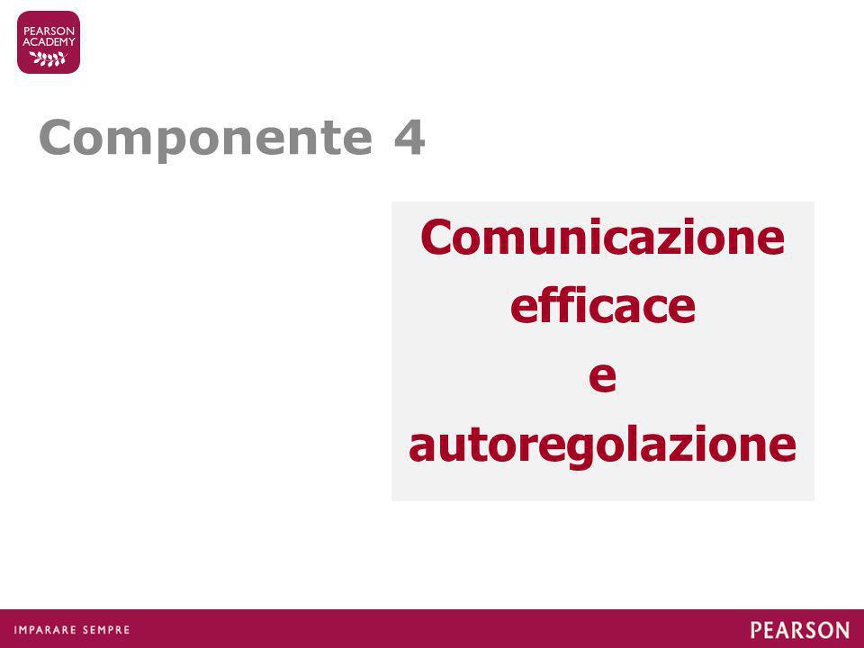 Comunicazione efficace e autoregolazione