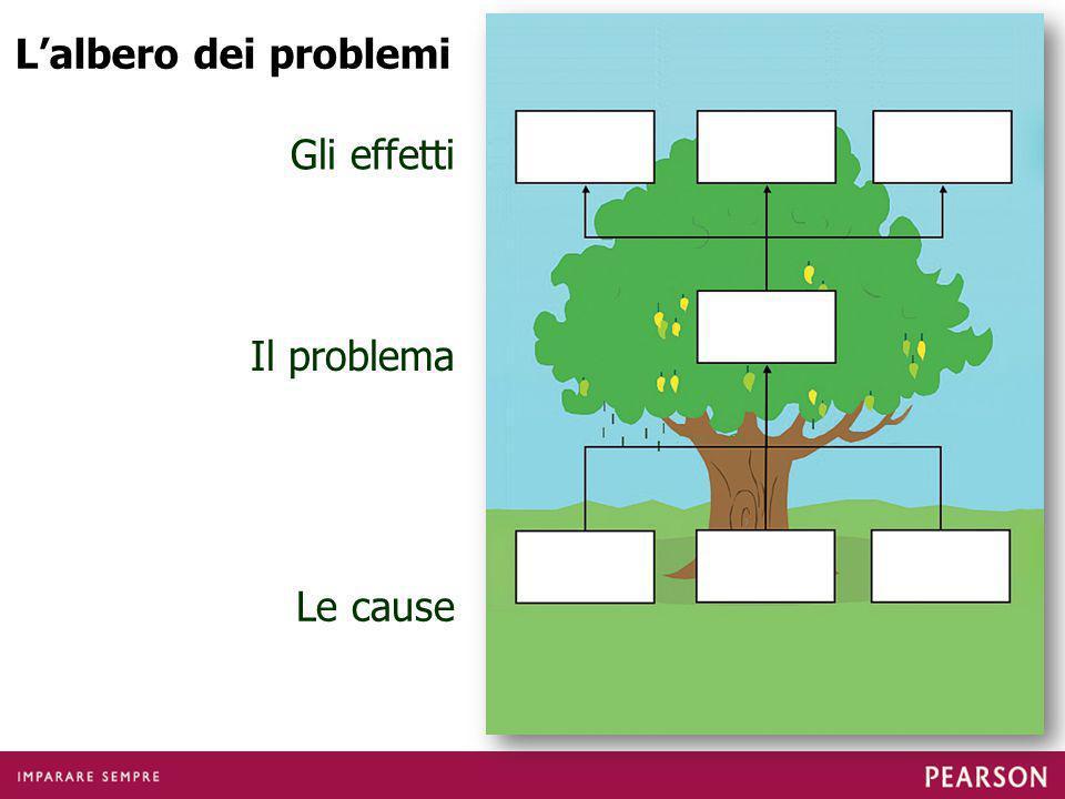 L'albero dei problemi Gli effetti Il problema Le cause
