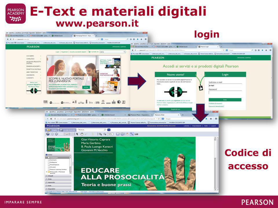E-Text e materiali digitali
