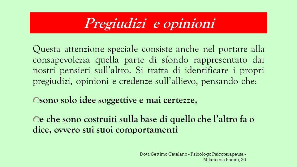 Pregiudizi e opinioni