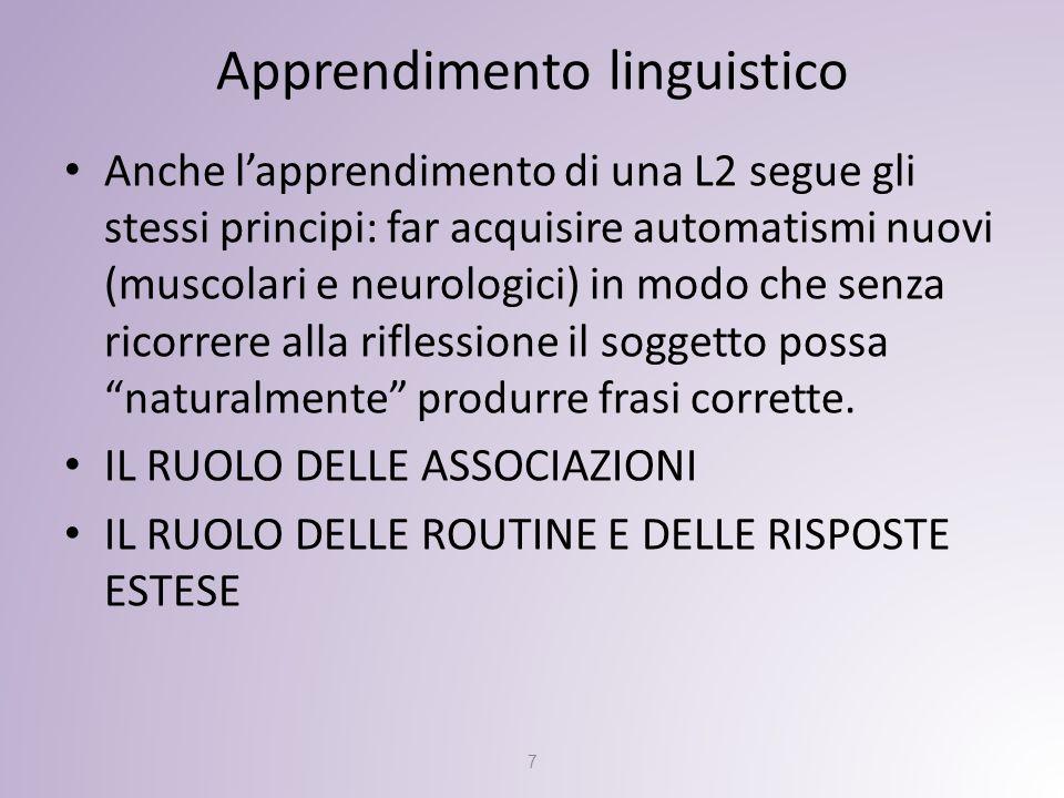 Apprendimento linguistico