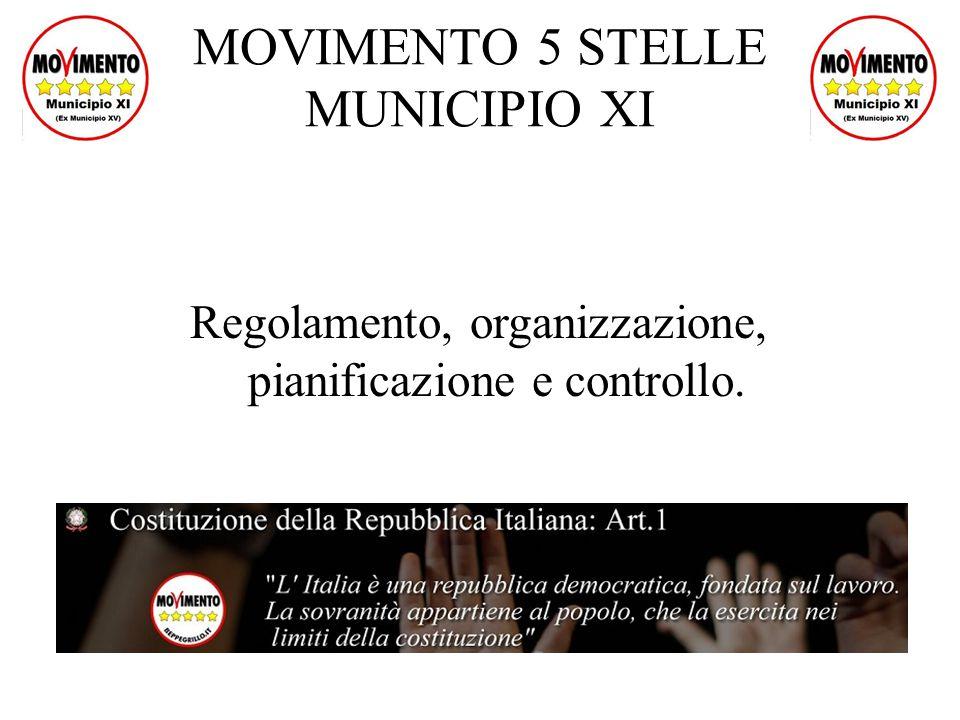 MOVIMENTO 5 STELLE MUNICIPIO XI