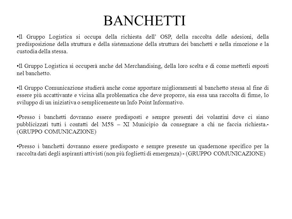 BANCHETTI