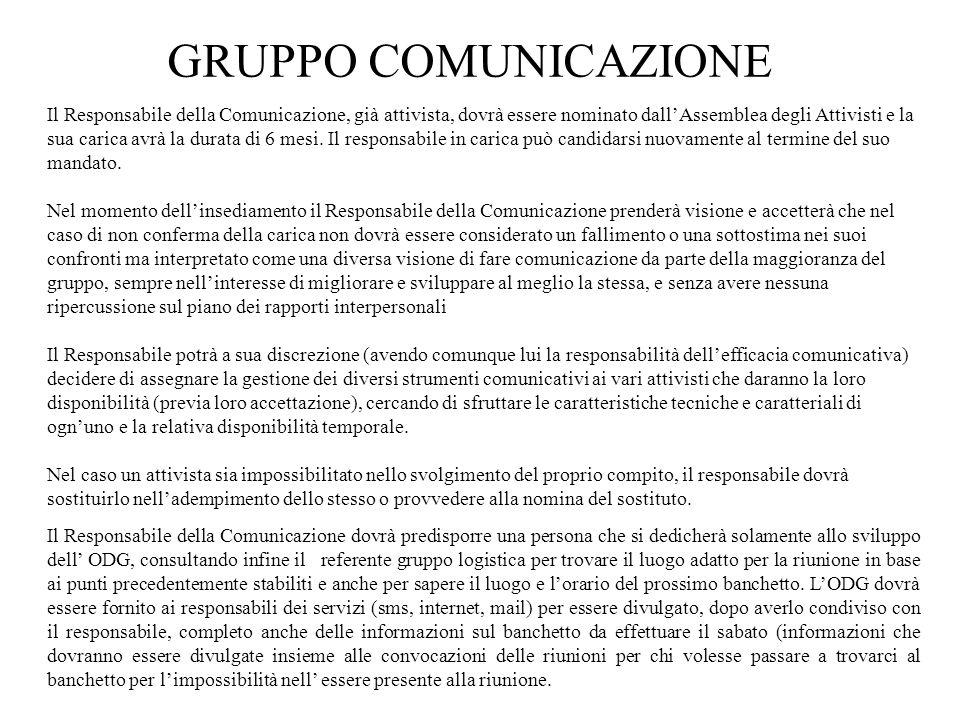 GRUPPO COMUNICAZIONE