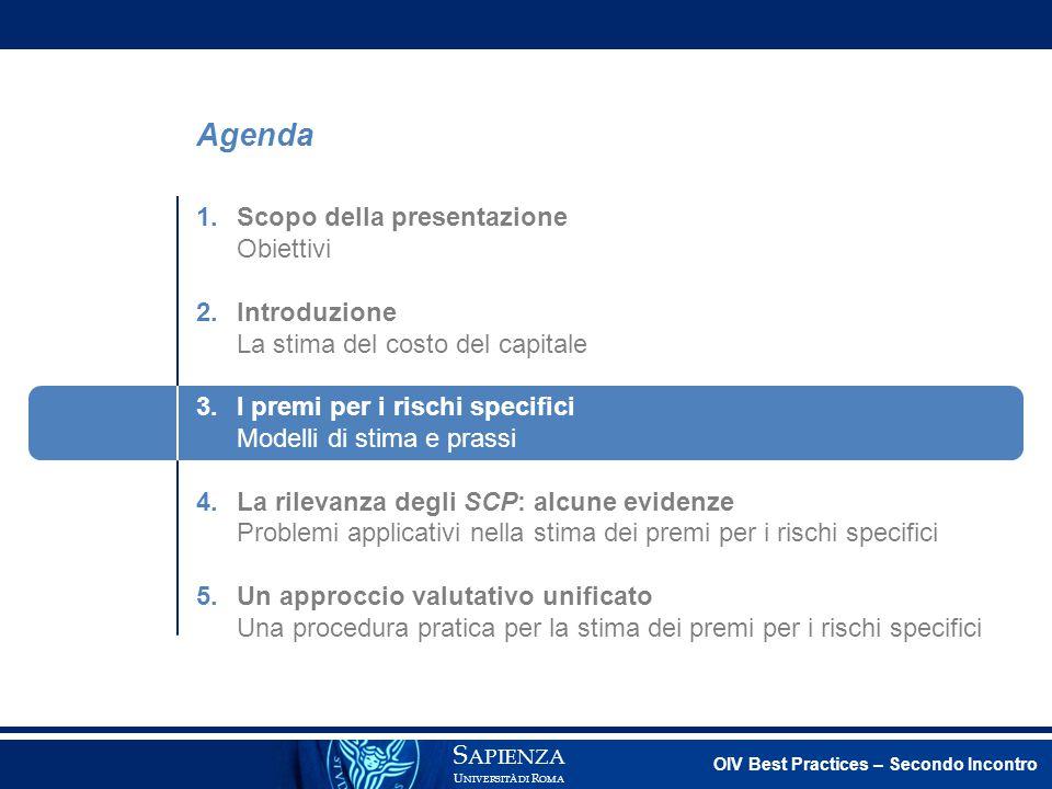 Agenda 1. Scopo della presentazione Obiettivi 2. Introduzione