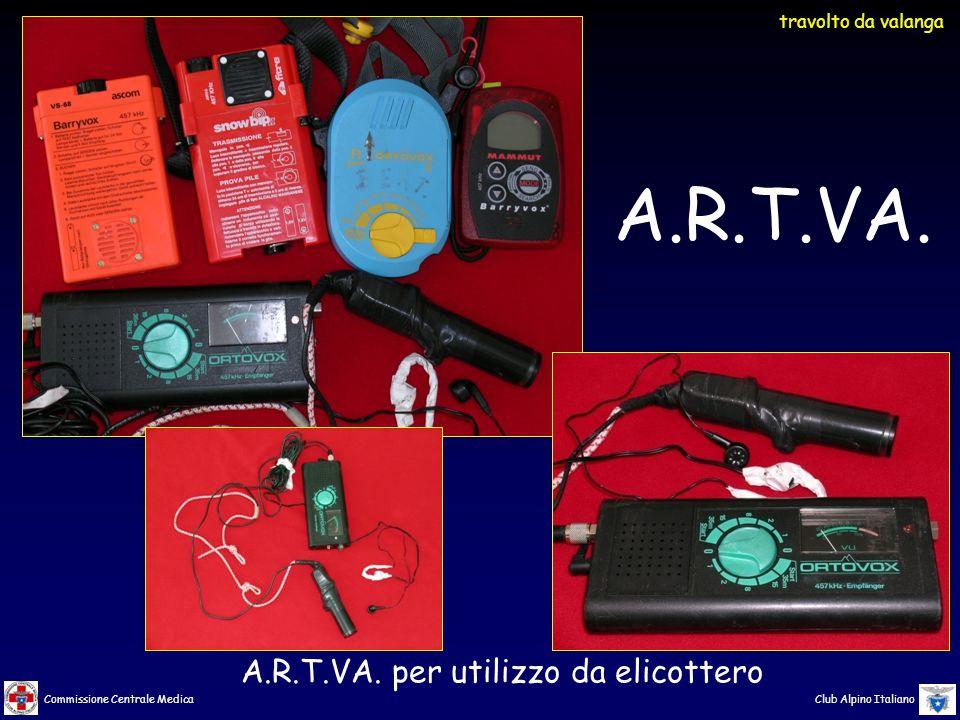 A.R.T.VA. per utilizzo da elicottero