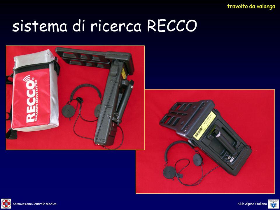 sistema di ricerca RECCO
