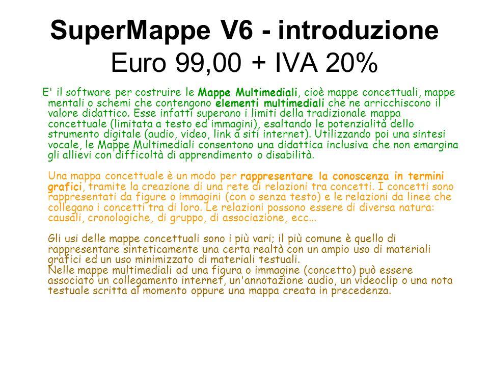 SuperMappe V6 - introduzione Euro 99,00 + IVA 20%