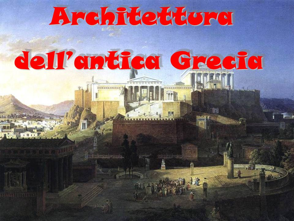 Architettura dell'antica Grecia