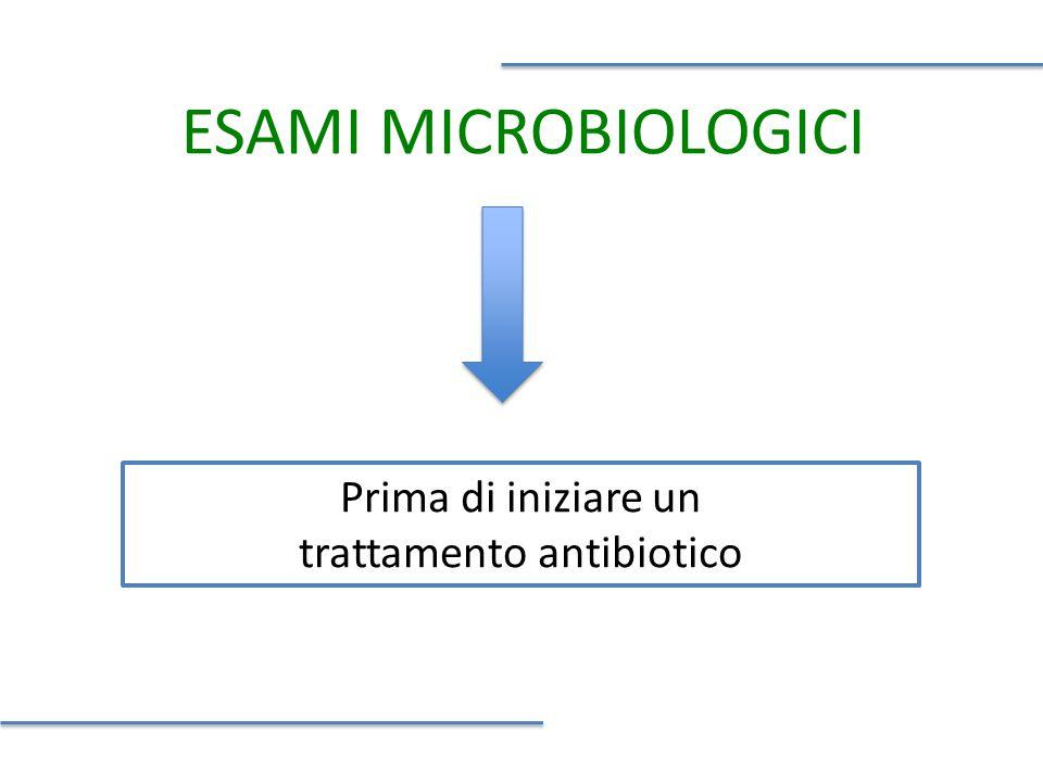 trattamento antibiotico