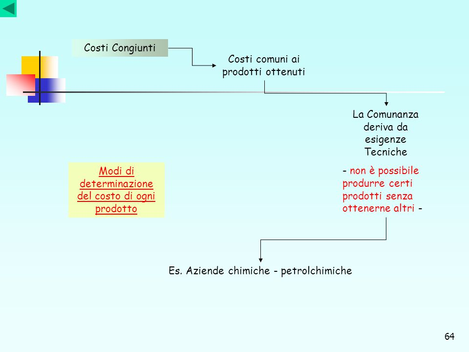 Costi comuni ai prodotti ottenuti