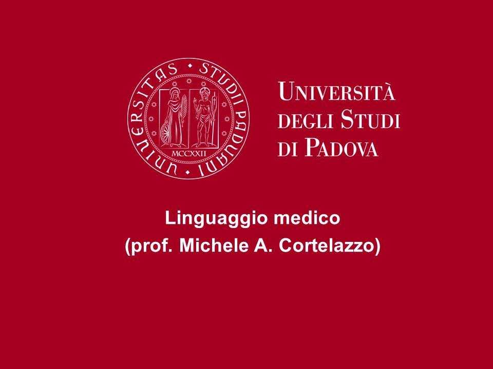 (prof. Michele A. Cortelazzo)