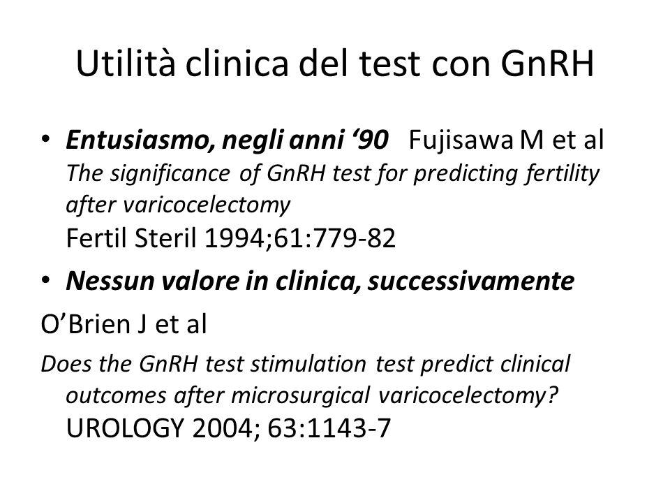Utilità clinica del test con GnRH