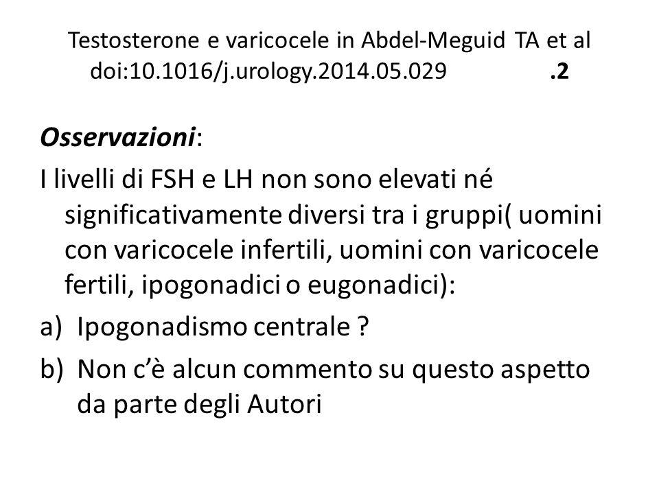 Ipogonadismo centrale