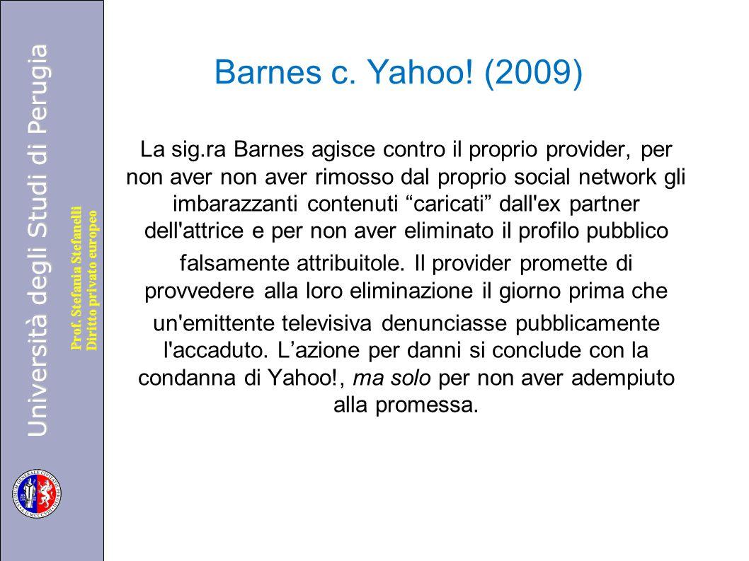 Barnes c. Yahoo! (2009)