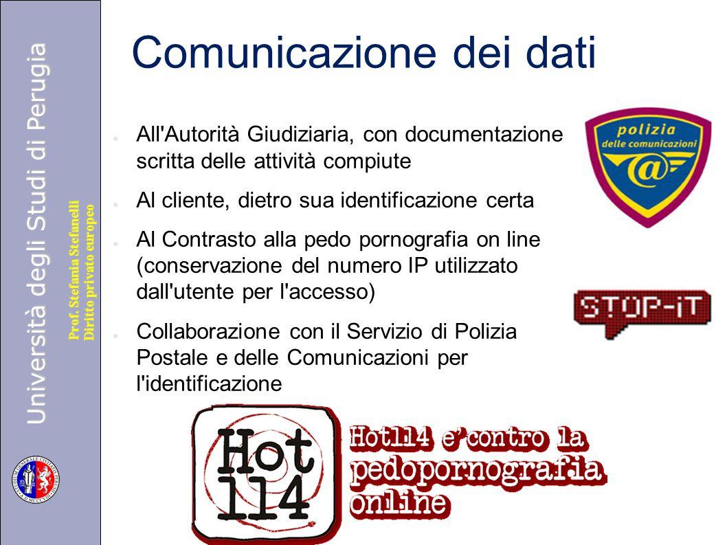 Comunicazione dei dati