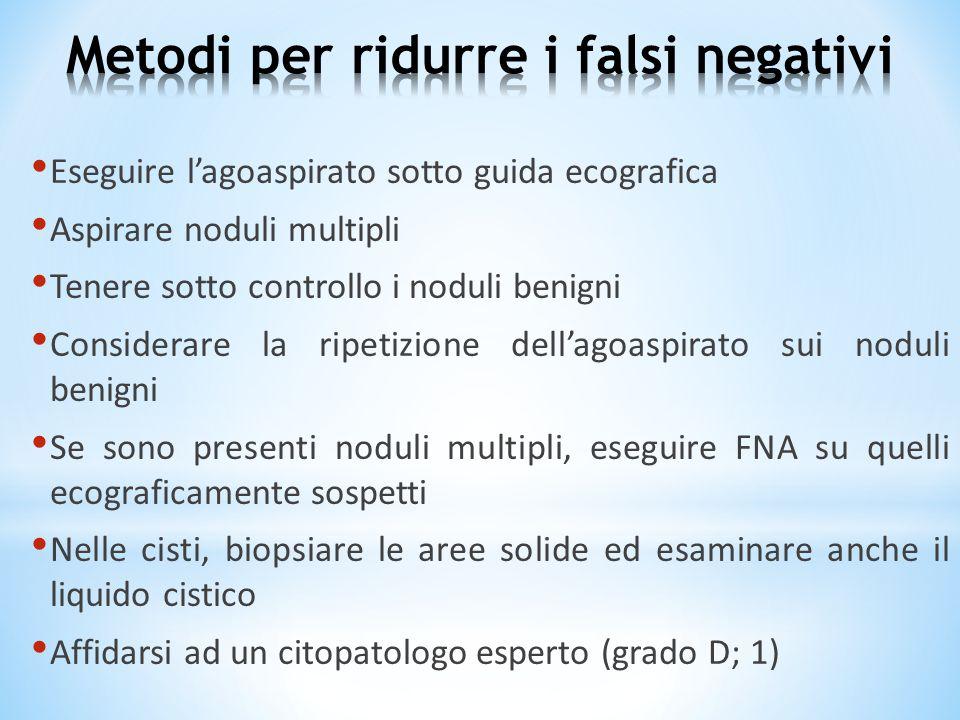 Metodi per ridurre i falsi negativi