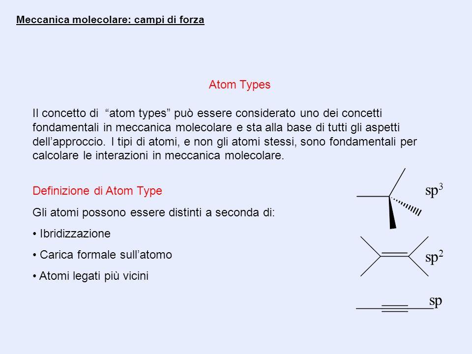 Meccanica molecolare: campi di forza