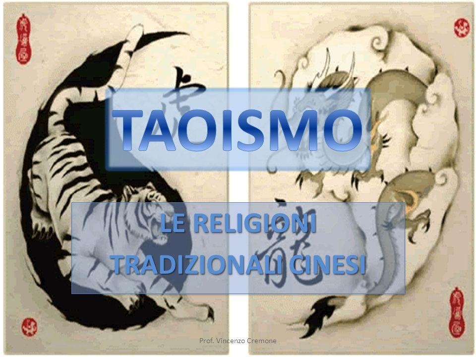LE RELIGIONI TRADIZIONALI CINESI