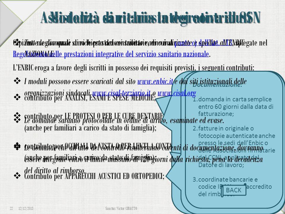 Assistenza sanitaria integrativa al SSN