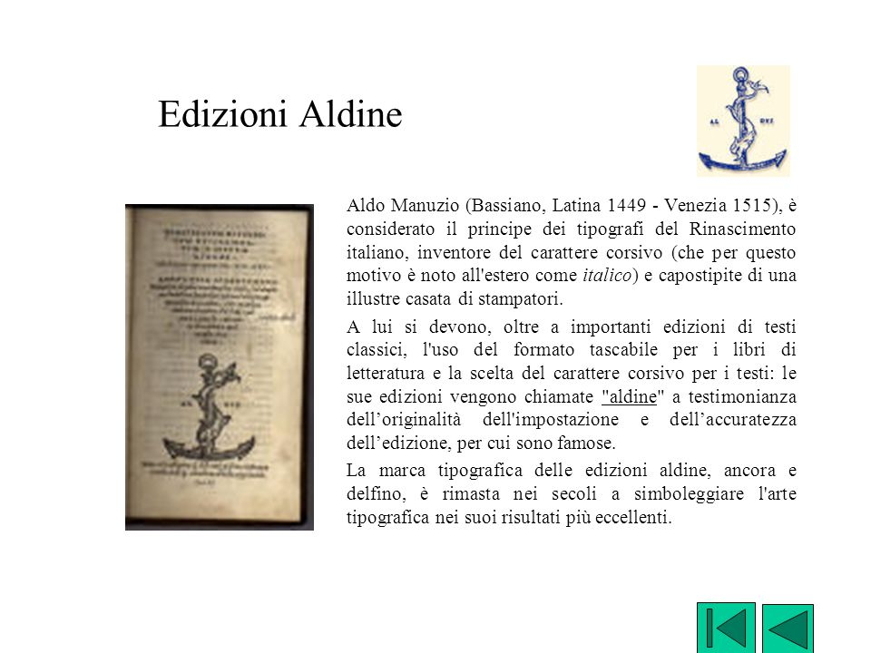 Edizioni Aldine