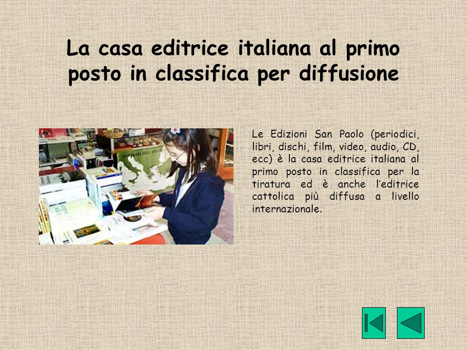 La casa editrice italiana al primo posto in classifica per diffusione