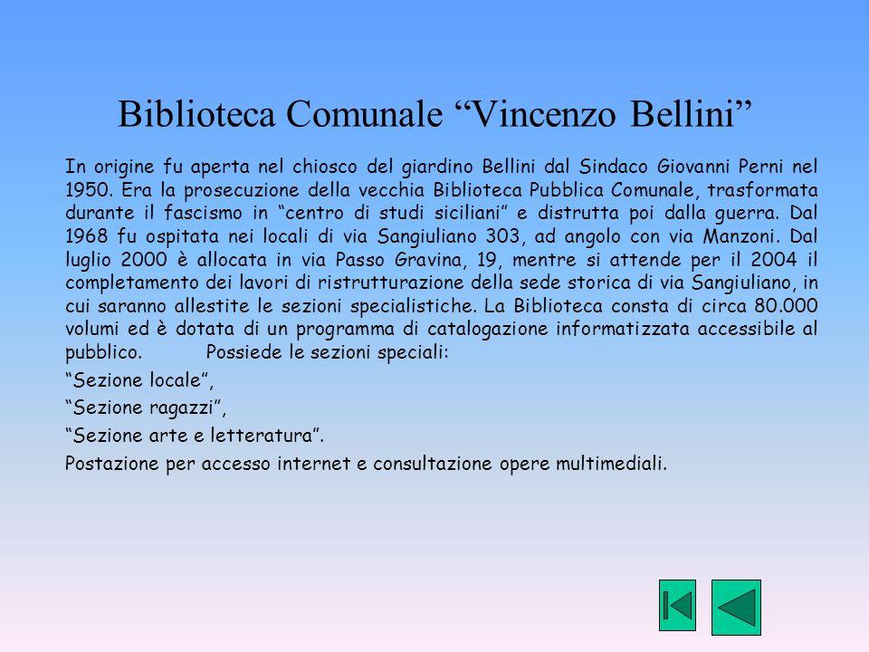 Biblioteca Comunale Vincenzo Bellini