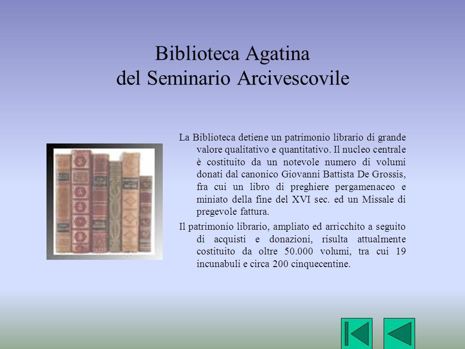 Biblioteca Agatina del Seminario Arcivescovile