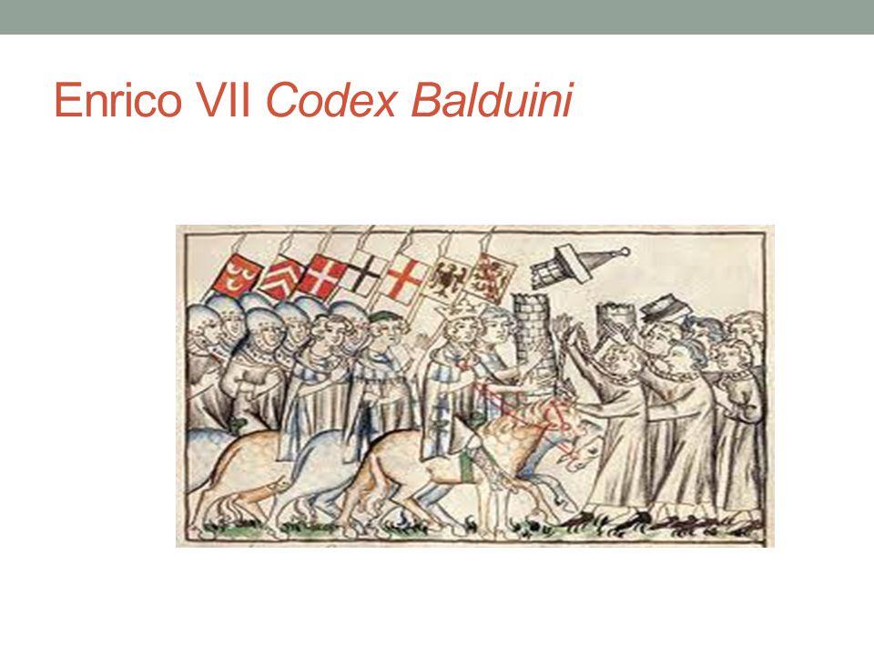 Enrico VII Codex Balduini