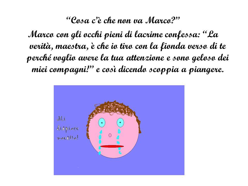 Cosa c'è che non va Marco