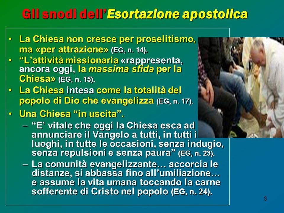 Gli snodi dell'Esortazione apostolica