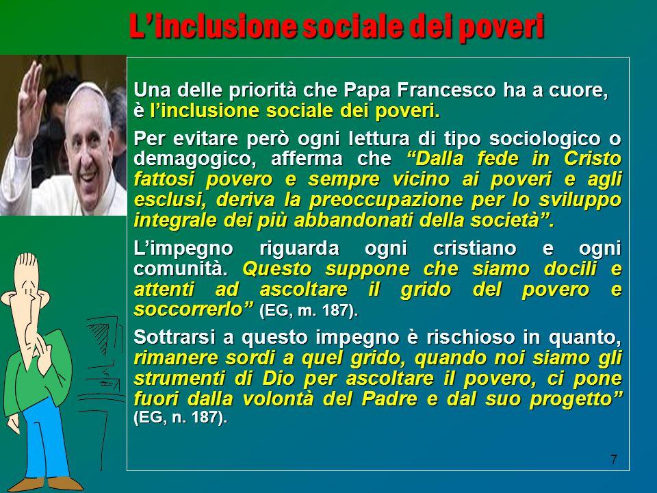 L'inclusione sociale dei poveri