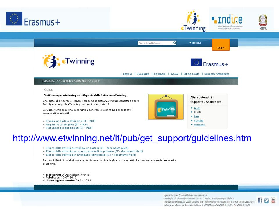 http://www.etwinning.net/it/pub/get_support/guidelines.htm