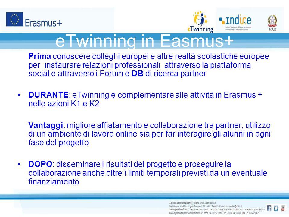 eTwinning in Easmus+