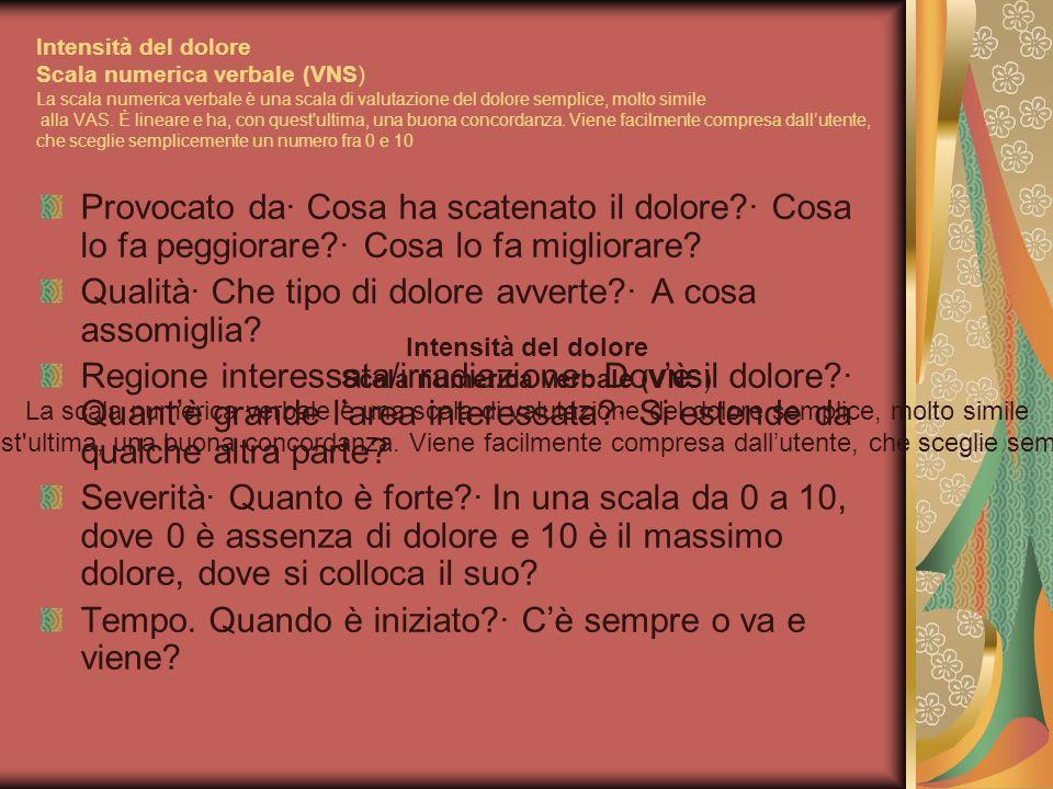 Scala numerica verbale (VNS)